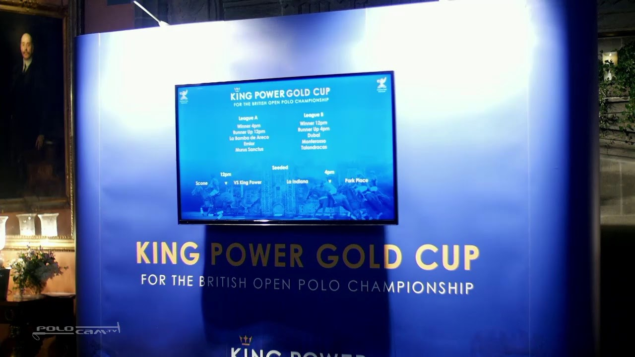 hight resolution of king power gold cup