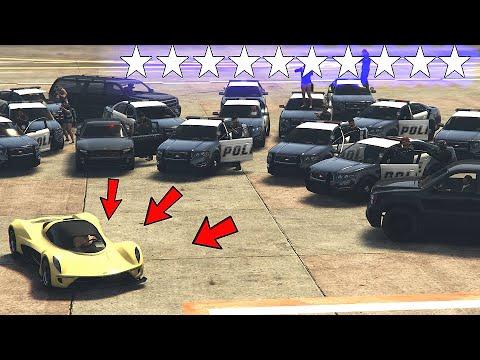 1 VS 26 Cops Vs Robbers GTA Online