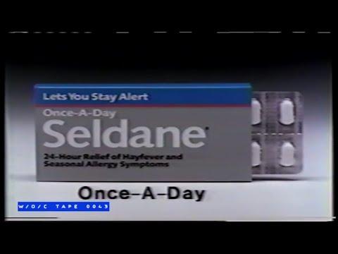 Sledane Allergy Pills Commercial – 1989