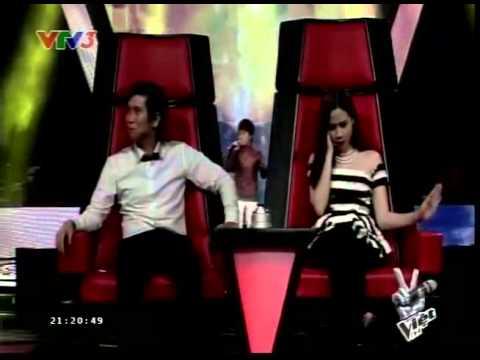 Giọng Hát Việt Nhí - The Voice Kids HD 2013 Tập 4 Vòng Giấu Mặt: Nguyễn Chiến Thắng - Trống Cơm