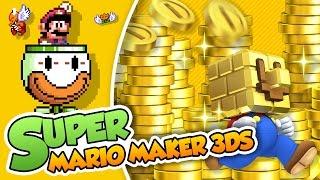 ¡Somos ricos! | Super Mario Maker 3DS