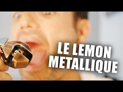 Le citron métallique diabolique - Casse tête