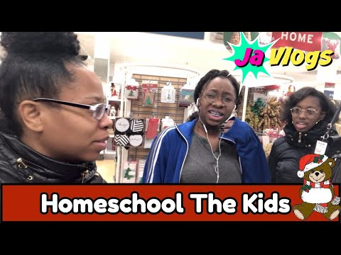Homeschool The Kids | Vlogmas Day 11