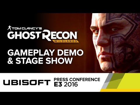 Ghost Recon Wildlands Full Gameplay Demo & Stage Show - E3 2016 Ubisoft Press Conference