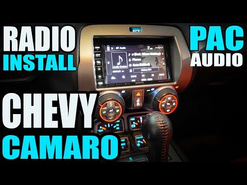 2010 - 2015 CHEVY CAMARO PAC AUDIO DASH KIT / HARNESS - RADIO INSTALL WITH BOSTON