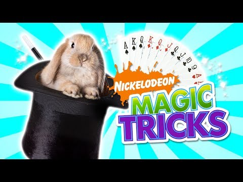 NICKELODEON MAGIC TRICKS
