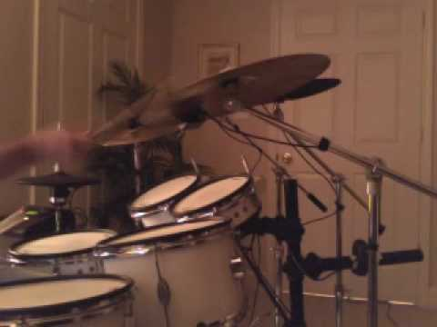 """Rolling Stones""""Fool to Cry"""" Drum Cover"""