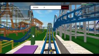 ROBLOX Wild Mouse! On Ride Front Seat POV Funland Theme Park
