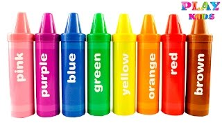 Learn colors with Crayons sorting surprises | Rainbow Pencil surprises and toys | Learning Resources