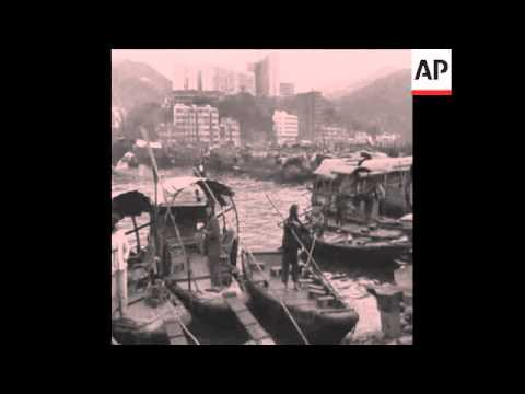 SYND 27 2 68 REFUGEES FROM CHINA'S CULTURAL REVOLUTION ARRIVE IN HONG KONG