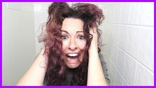PURPLE HAIR FAIL!!