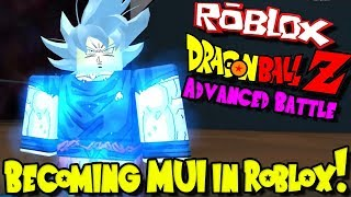 HOW TO BECOME MASTERED ULTRA INSTINCT IN ROBLOX! | Roblox: Dragon Ball Advanced Battle
