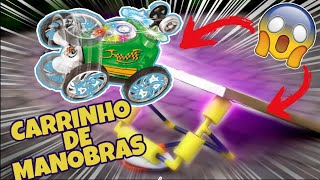 CARRINHO DE CONTROLE REMOTO DE MANOBRAS - TURBO TWIST CAR - DAN TOYS