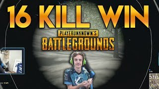 16 Kill Solo Win #2 (PLAYERUNKNOWN'S BATTLEGROUNDS)