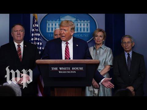 WATCH: White House Coronavirus Task Force Gives Update - 3/21 (FULL LIVE STREAM)
