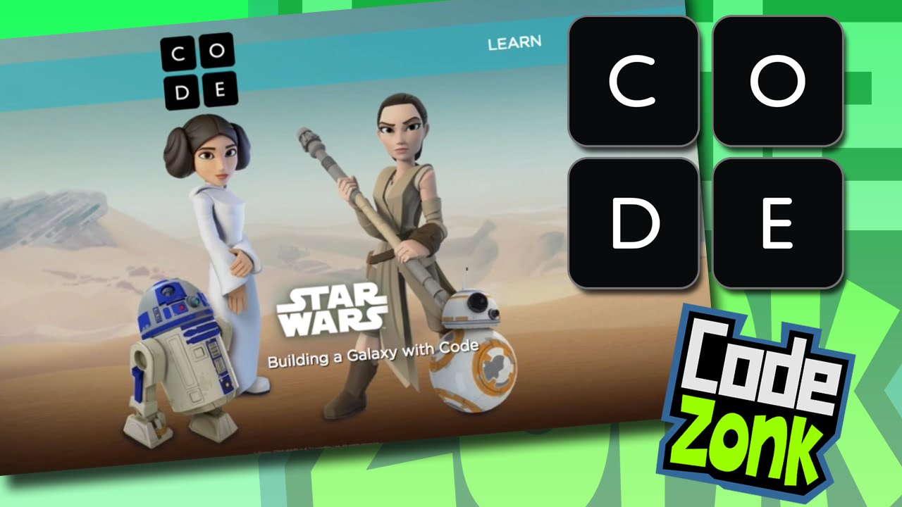 teach kids to code with star wars on codeorg youtube