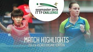 Wu Yangchen vs Dana Cechova | 2019 ITTF Challenge Plus Portugal Open Highlights ( R64 )