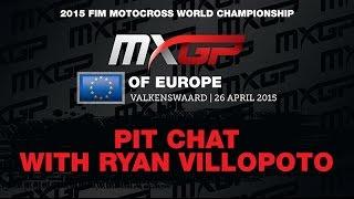 Ryan Villopoto BREAKING NEWS MXGP of Europe 2015