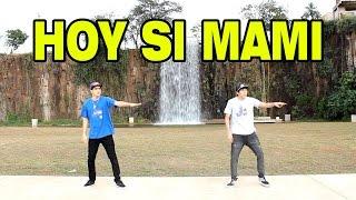Jorge y Nacho bailando HOY SI MAMI