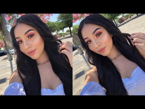 EASY PEACHY MAKEUP 🍑 | Jocy Reyes thumbnail