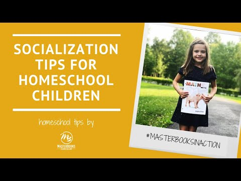 Socialization Tips for Raising Homeschool Children // Master Books Homeschool Curriculum