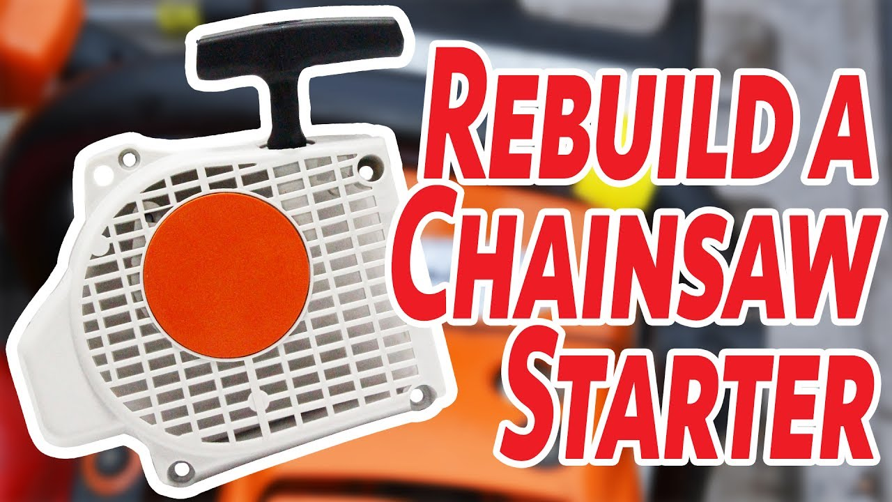 Rebuild a Starter on a Stihl Chainsaw    The Easy Way by Bobby
