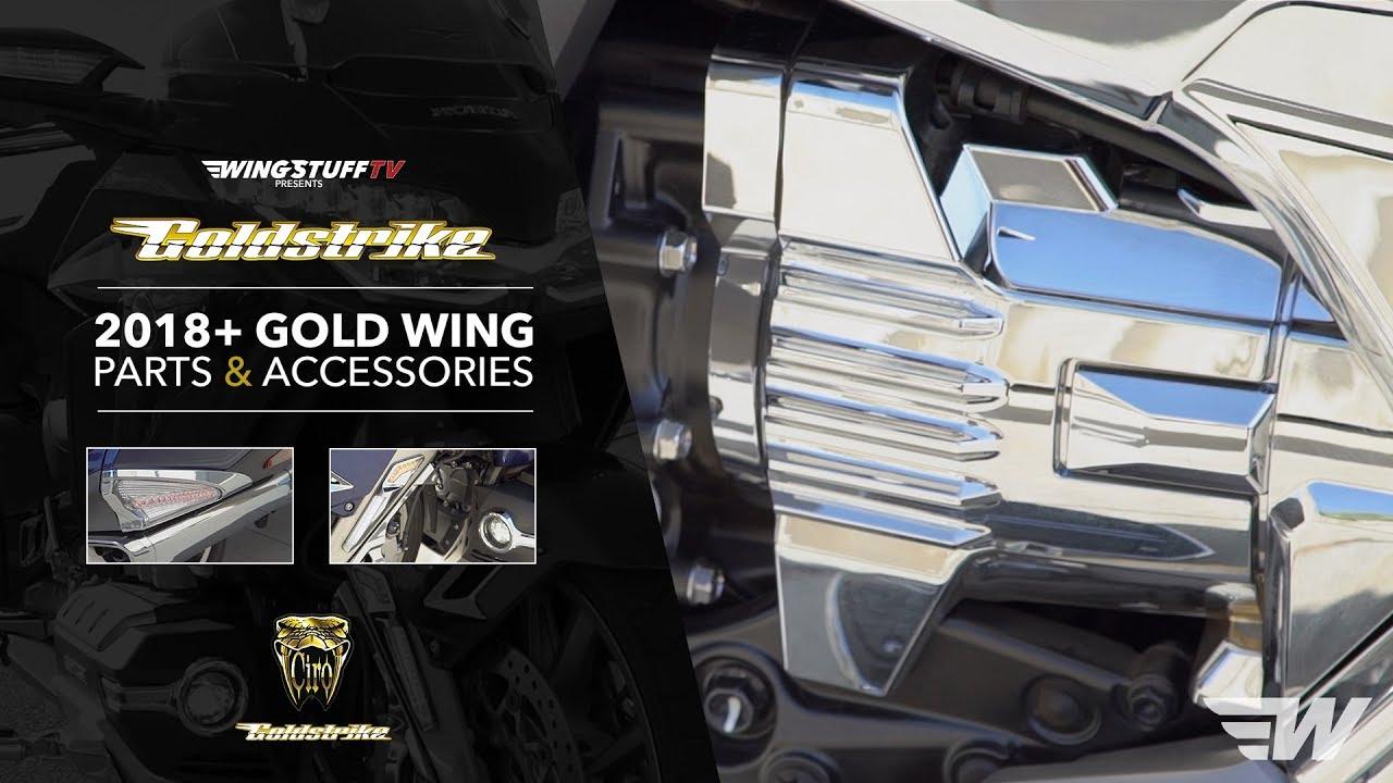 Goldstrike LED Fork Mounted NAV Lights for Gold Wing