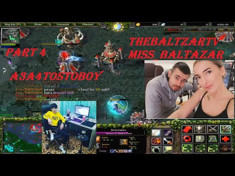 (Aggressive Shadow Fiend) DOTA A3A4TOSTOBOY And Baltazars Family ))) Part 4