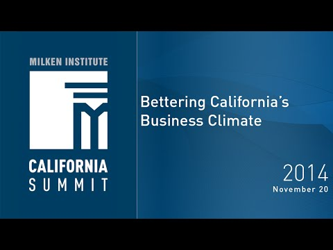 Bettering California's Business Climate