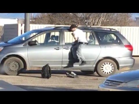 Albuquerque mom catches thief in the act