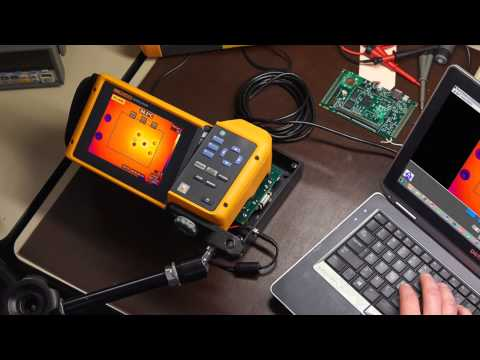 Fluke R&D Inspection application of TiX series IR thermographic cameras