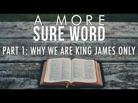 A More Sure Word: Why We Are King James Only (Part 1)| Pastor Roger Jimenez, VBC