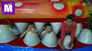 ВЛОГ детский развлекательный центр и встреча с подписчиками Sky Park kid's indoor intertaimnent