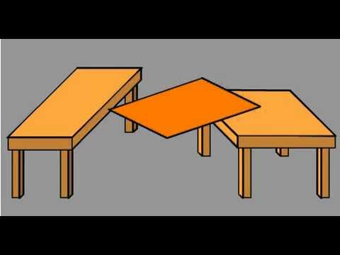 tables illusion optical descript