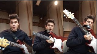 John Mayer Gives Blues Guitar Lessons to his fans | Instagram Live Str