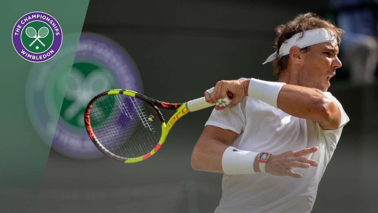 Match Point Rafael Nadal Vs Yuichi Sugita Wimbledon 2019 Youtube