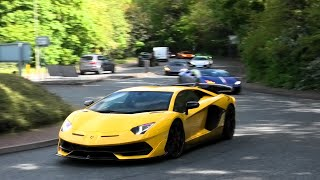 The LARGEST LAMBORGHINI convoy in the UK! 50+
