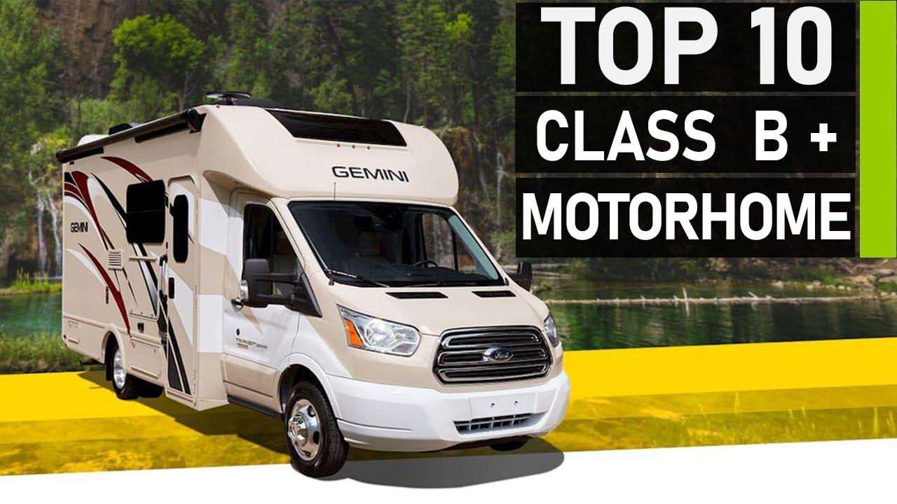 Best Class B Rv 2021 Top 10 Amazing Class B Plus Motorhomes 2020   YouTube
