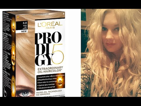 loral paris prodigy natural blonde - Coloration L Oreal Blond