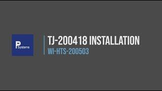 [WI-HTS-200503] การติดตั้งสายวัดอุณหภูมิเข้ากับ TJ-200418 l Thermocouple Jig Installation