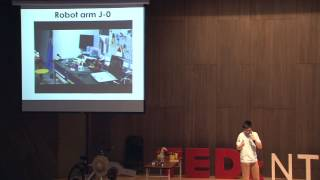 We Make&Do at DIT Robotics:邱駿 | Juin Chiu | TEDxNTHU