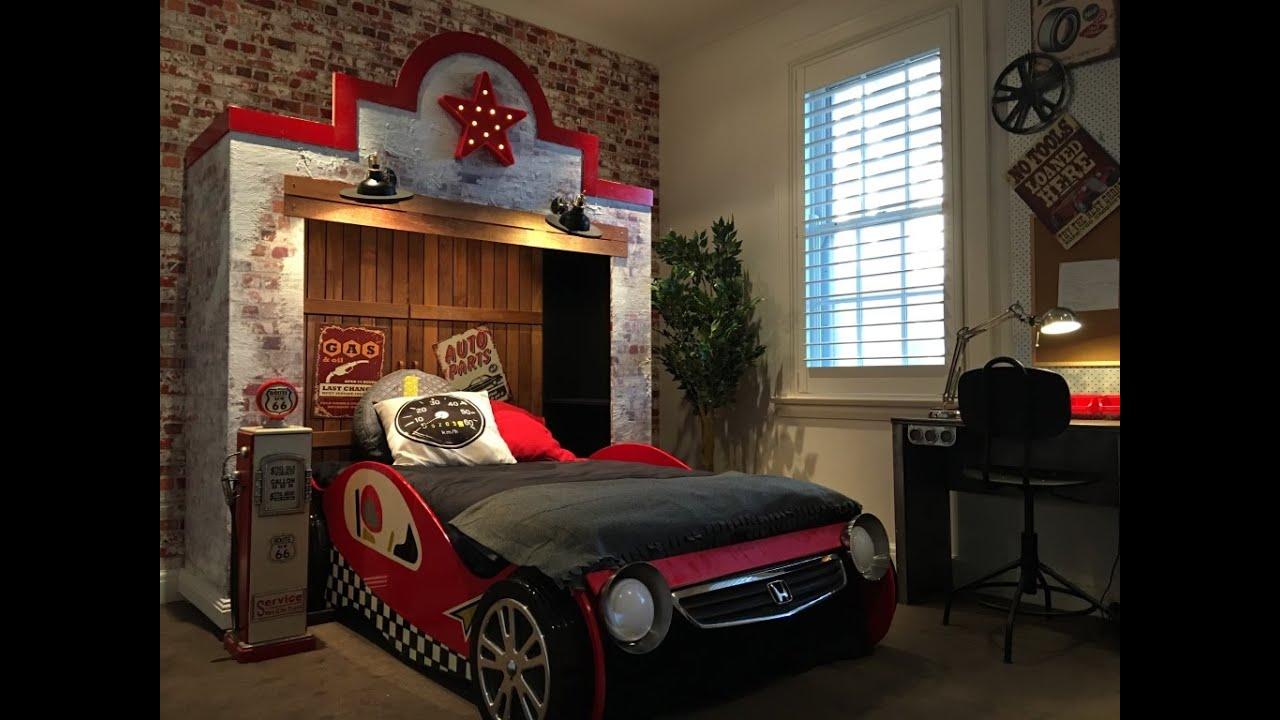 Retro garage bedroom youtube for Garage bedroom