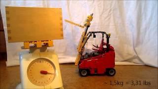 LEGO Technic Forklift Truck full PF