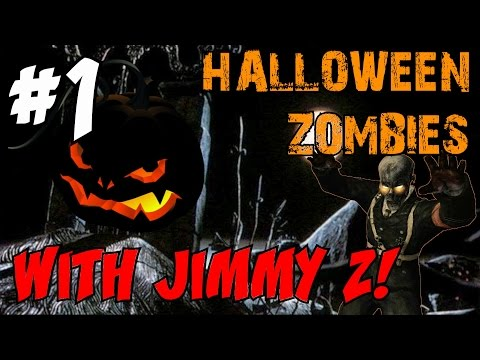 "HALLOWEEN ZOMBIES SPECIAL with Jimmy Zielinski!!! [1] ★ ""CPH Zombies"" (CoD Custom Zombies Maps/Mods)"
