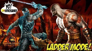 Mortal Kombat 9 Kratos Ladder Matches YoVideogames