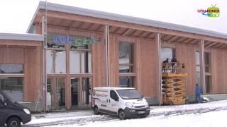 Dernière ligne droite pour les travaux du nouveau bâtiment du domaine de la Mauselaine