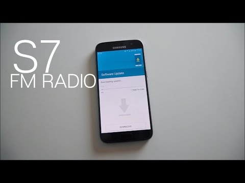 Enabling the FM Radio on the Galaxy S7