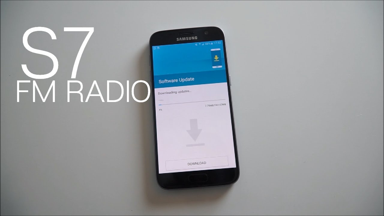 Enabling The Fm Radio On The Galaxy S7 Youtube
