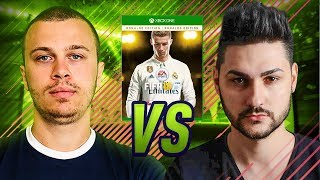 FIFA 18 WAGER - Krasi vs Ovvy | INSANE BATTLE OF LEGENDS!
