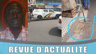 Policier suicidé au rond point Sandaga - Découvrez ce qui s'est passé !